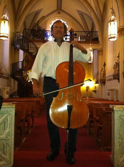 Nelson Denman, Loretto Chapel, Santa Fe, June 5, 2013